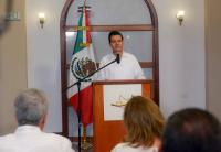 EPN se solidariza con los padres de los 43 desde Colombia. Foto: Presidencia