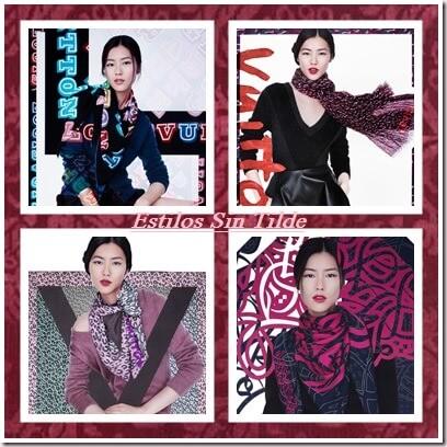 Nueva colección de pañuelos O/I 2013-14 de Louis Vuitton