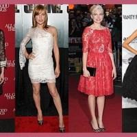 Vestidos de encaje, moda Primavera 2014
