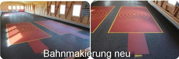 Neue Bodenmarkierungen