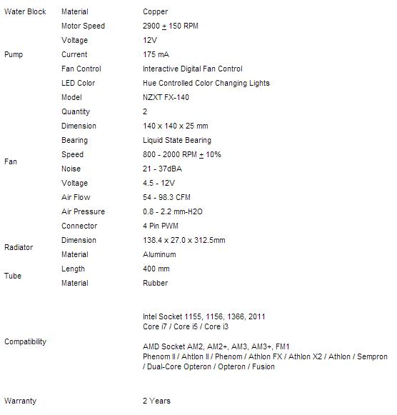 NZXT_Kraken_X60_specs