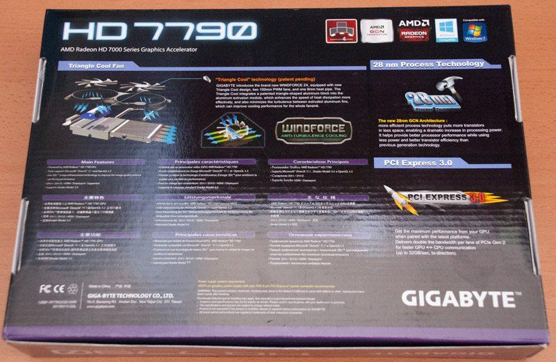 Gigabyte HD 7790 Windforce OC 2GB (2)