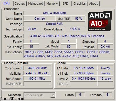 AMD-20nm-Carrizo-APU-A10-8890K