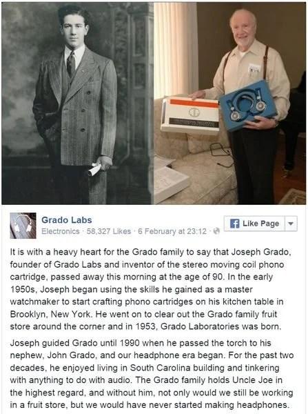 Joseph Grado RIP