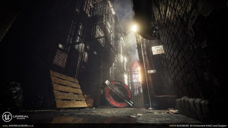 Blade Runner Unreal Engine 4 (2)