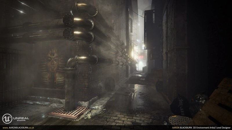 Blade Runner Unreal Engine 4 (3)