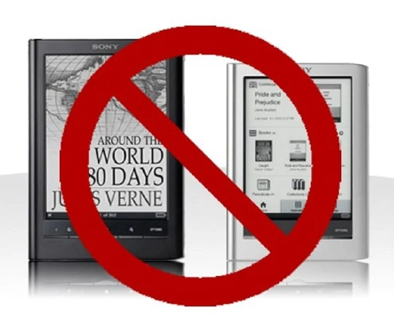 report-apple-banned-sony-reader-for-out