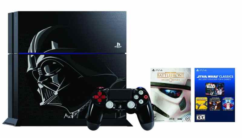 Sony Star Wars Darth Vader PS4 Bundle Console 1
