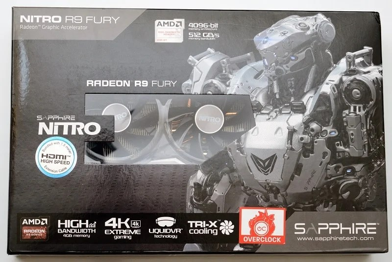 DSC_0022 R9 Fury Graphics Card