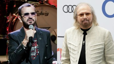 Ringo Starr and Barry Gibb Among Stars Knighted in Queen's New Year's Honors | Entertainment Tonight