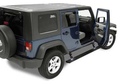 2013 Jeep Wrangler Unlimited Nerf Bars - Running Boards - Bestop