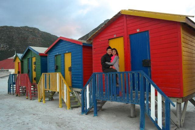 Adding colours to Muizenberg