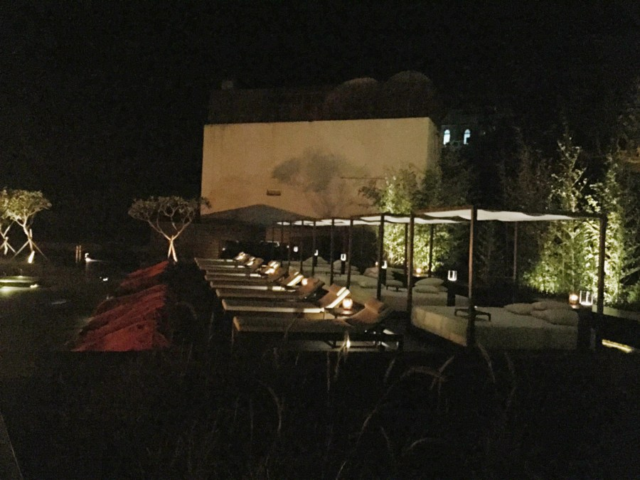 Silks Place Taroko Outdoor Movies