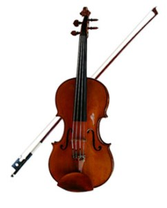 If you don't own an instrument, your local music store can help you find the one that's right for you Having the right violin will make it easier to learn