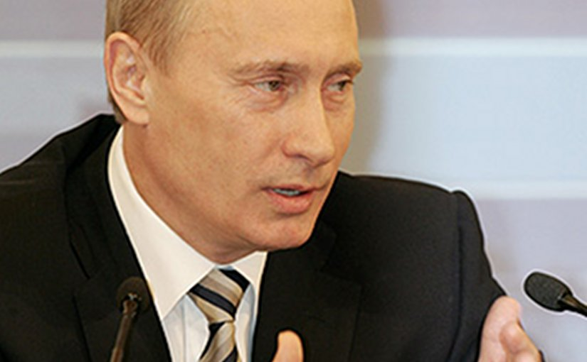 Russia's Vladimir Putin. Source: Kremlin.ru, Wikipedia Commons.