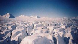 Arctic region in Norway.