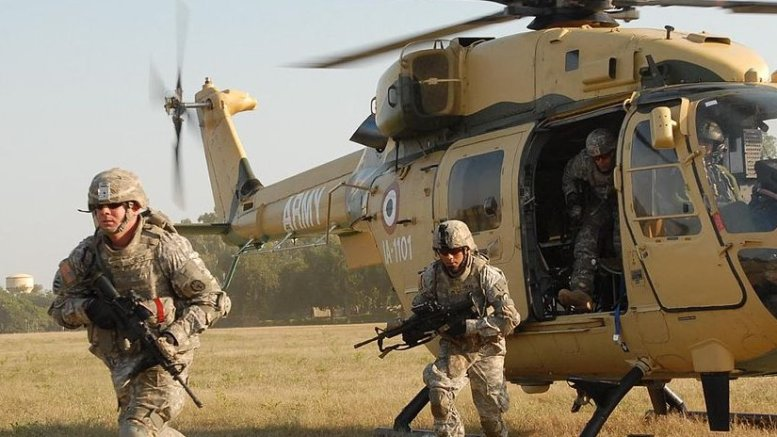 Indian Army. Photo Credit: Staff Sgt. Crista Yazzie U.S. Army, Pacific Public Affairs