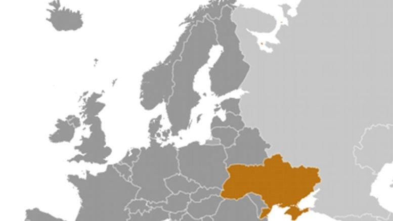 Location of Ukraine. Source: CIA World Factbook.