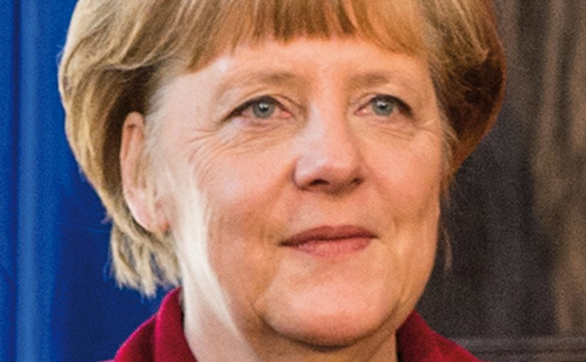 Germany's Angela Merkel. Photo by Marc Müller, Wikipedia Commons.