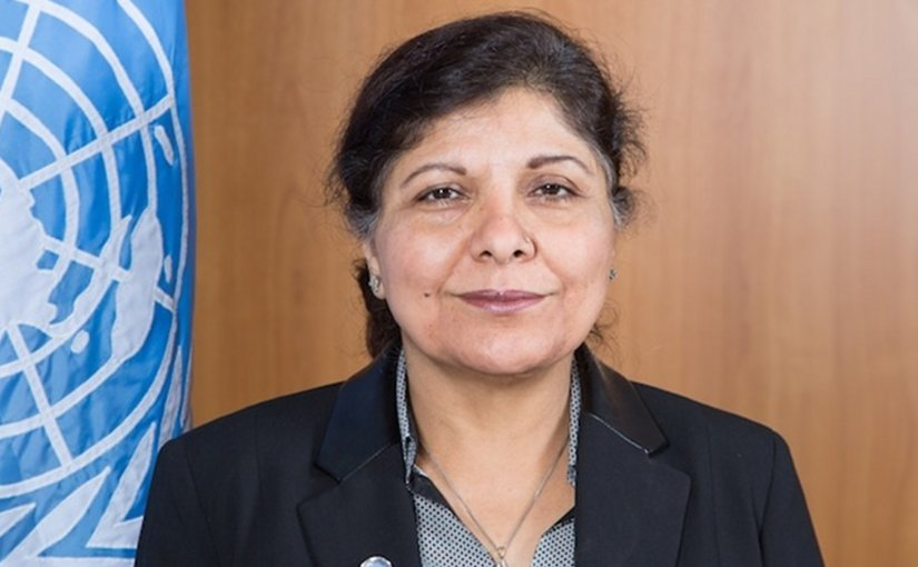 Under-Secretary-General of the United Nations and Executive Secretary of the Economic and Social Commission for Asia and the Pacific (ESCAP) Shamshad Akhtar. Photo Credit: ESCAP.