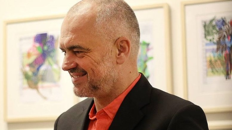 Albania's Edi Rama. Photo Credit: Edi Rama Press, Wikipedia Commons.