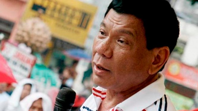 The Philippines' Rodrigo Duterte. Photo by Keith Kristoffer Bacongco, Wikipedia Commons.