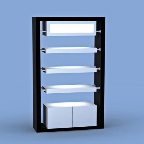 Portofino Display Wall Unit B&W