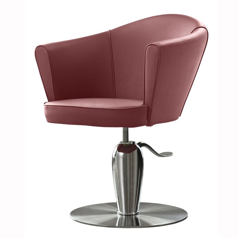 Musette Salon Styling Chair RedRed
