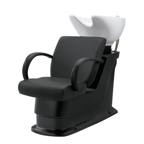 Odin-Black Shampoo Chair-Bowl