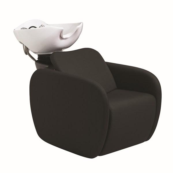 Lazaro Black Shampoo Chair