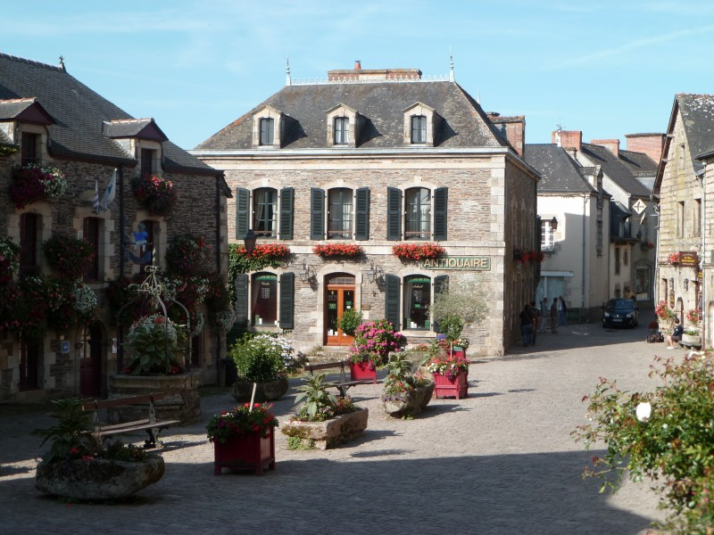 Le village de Rochefort-en-Terre : plus beau village de France