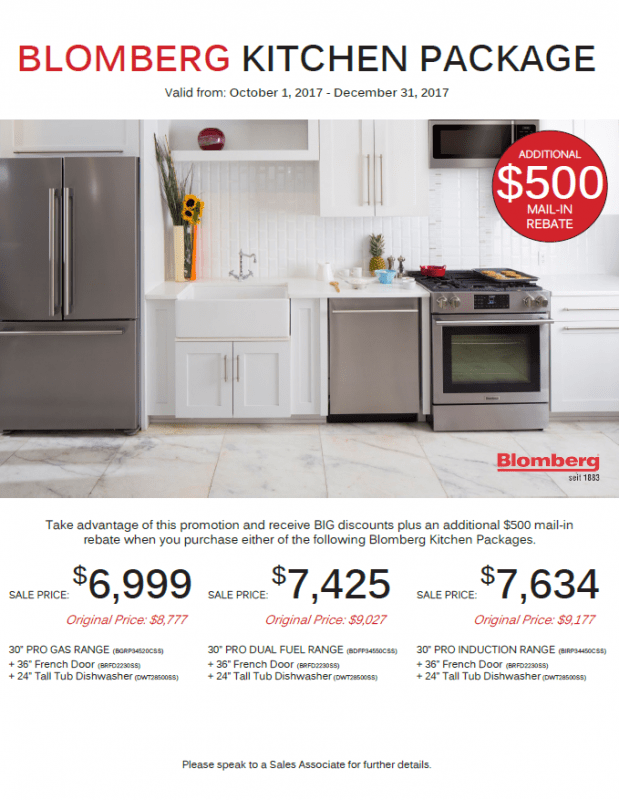 Blomberg Kitchen Package 2
