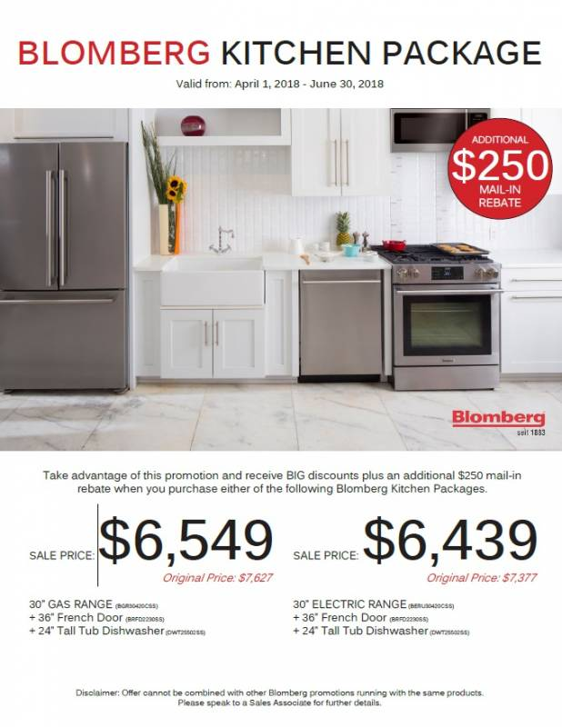 Blomberg Kitchen Package