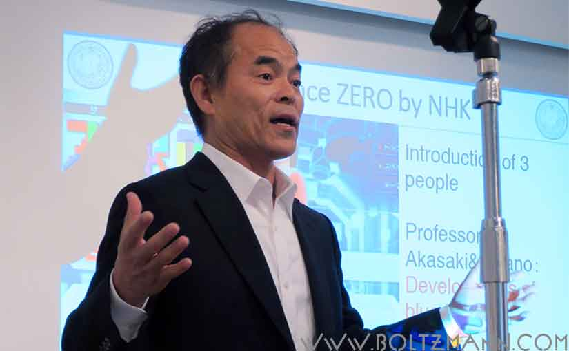 Shuji Nakamura invented the blue GaN LEDs - here an interview about Shuji Nakamura's breakthrough, his research style, did he do the work alone?