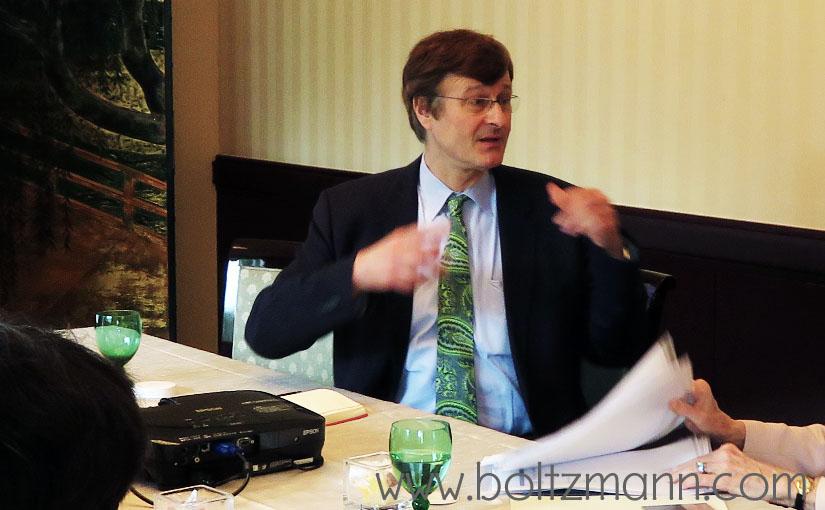 Gerhard Fasol: Ludwig Boltzmann Forum on Women's development and leadership - objective