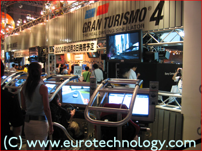 SONY's Gran Tourismo at Tokyo Game Show TGS2004