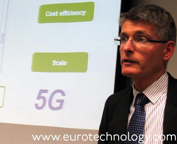 Erik Ekudden, Head of Technology Strategies, Ericsson