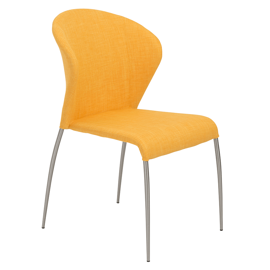 Yellow Side Chair Eurway37
