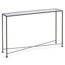 Small Of Glass Console Table