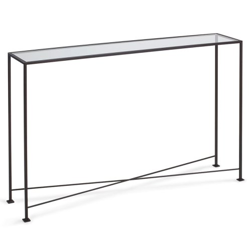 Medium Crop Of Glass Console Table