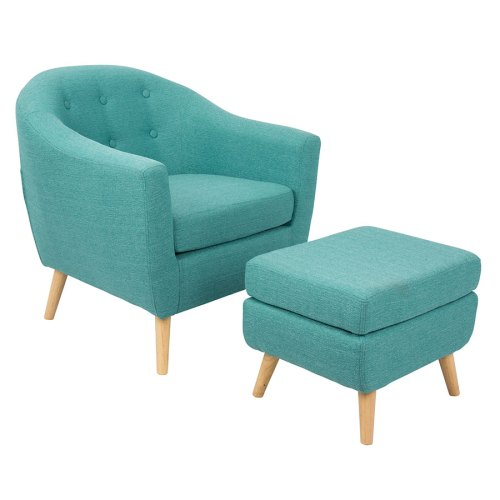 Medium Of Modern Lounge Chairs With Ottoman