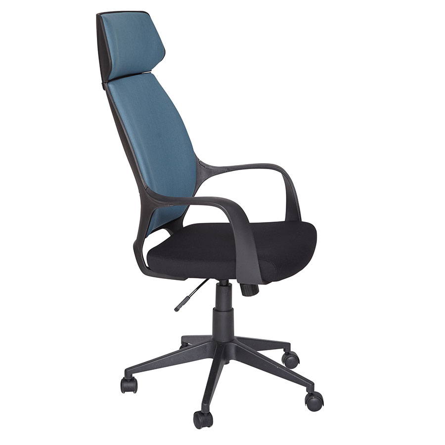 Sophisticated Call To Order Tilson Blue Back Office Chair Office Chairs Tilson Blue Office Chair Eurway Office Chairs Melbourne Office Chairs Canada houzz-03 Modern Office Chairs