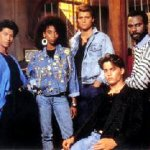 Circa 1987 cast photo of Fox TV's '21 Jump Street'