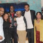. Sam Bell, Florence LaRue, Annie McKnight, Trueful, Brenda Lee Eager and Ernest Thomas show their support for young Trueful (Photo: Donald Carraway)