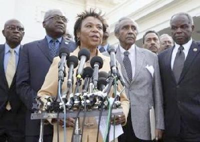 barbara lee & black caucus