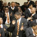 A lot of happy 'feelins' being expressed at chicago's Urban Prep Academy