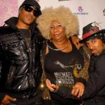 Real, Luenell and Chance were all down for the cause (Photo: Vinni Ratcliff)