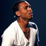 "Chris Brown cries during performance of ""Man in the Mirror"" at the 2010 BET Awards"