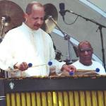 Jay Hoggard and Bill Cosby at 2010 Playboy Jazz Festival