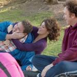Jonah Hill, Marisa Tomei & John Reilly in a still shot from 'Cyrus'